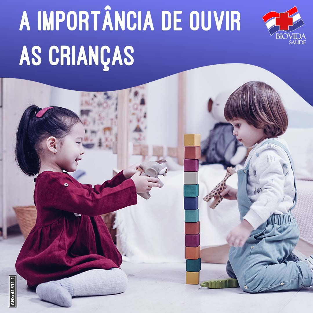 A importância de ouvir as crianças