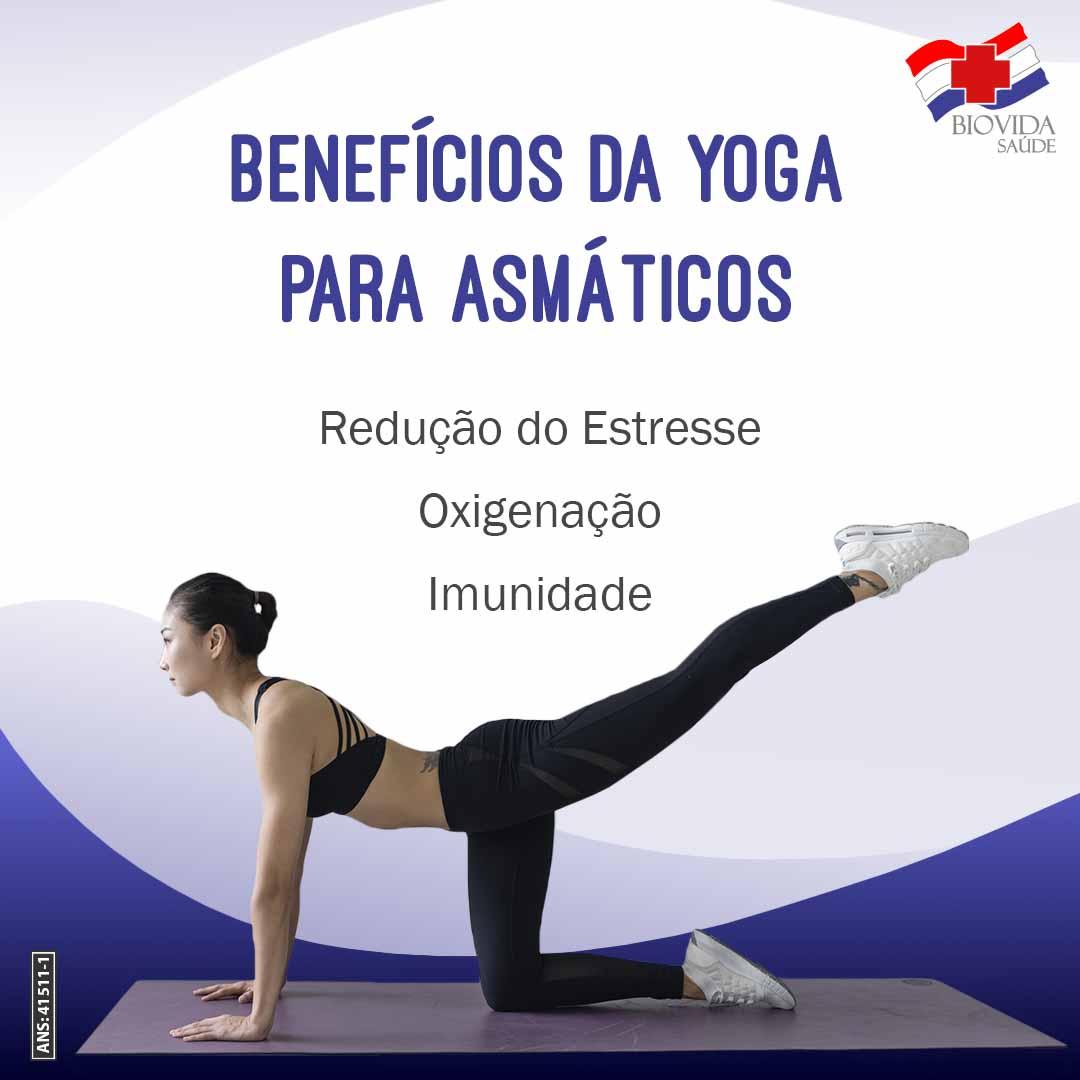 Benefícios da Yoga para asmáticos