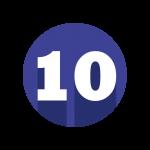 ícone 10 anos